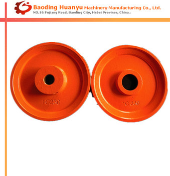 China OEM Customized Pulley Used For Ceramic Glazing Line