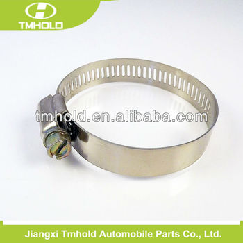 bandwidth 12.7mm america type worm gear hose pipe clamp