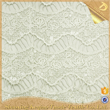 Modern Chemical White Voile African Tulle Lace Fabric