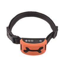 2017 Hot New Products Best Pet Training Products Dog Bark Control Accessories Electric No Shock Anti-Bark Dog Collar