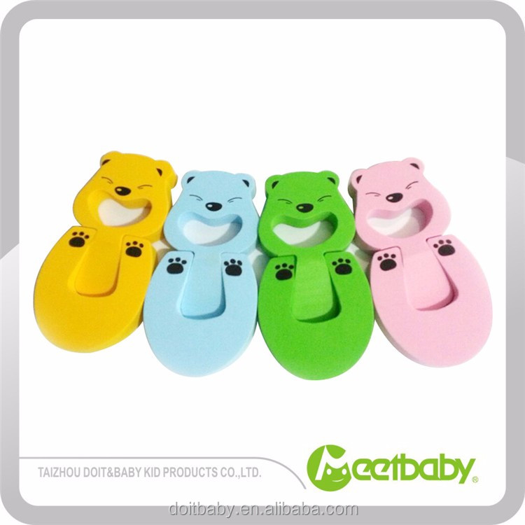 Cute Colorful Eva Dual Purpose Baby Safety Soft Door Stops