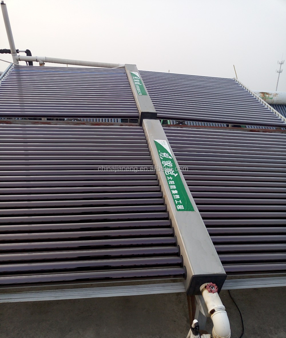 Solar Water Heater Project for Industrial Use with 5T to 15T Storage Tank