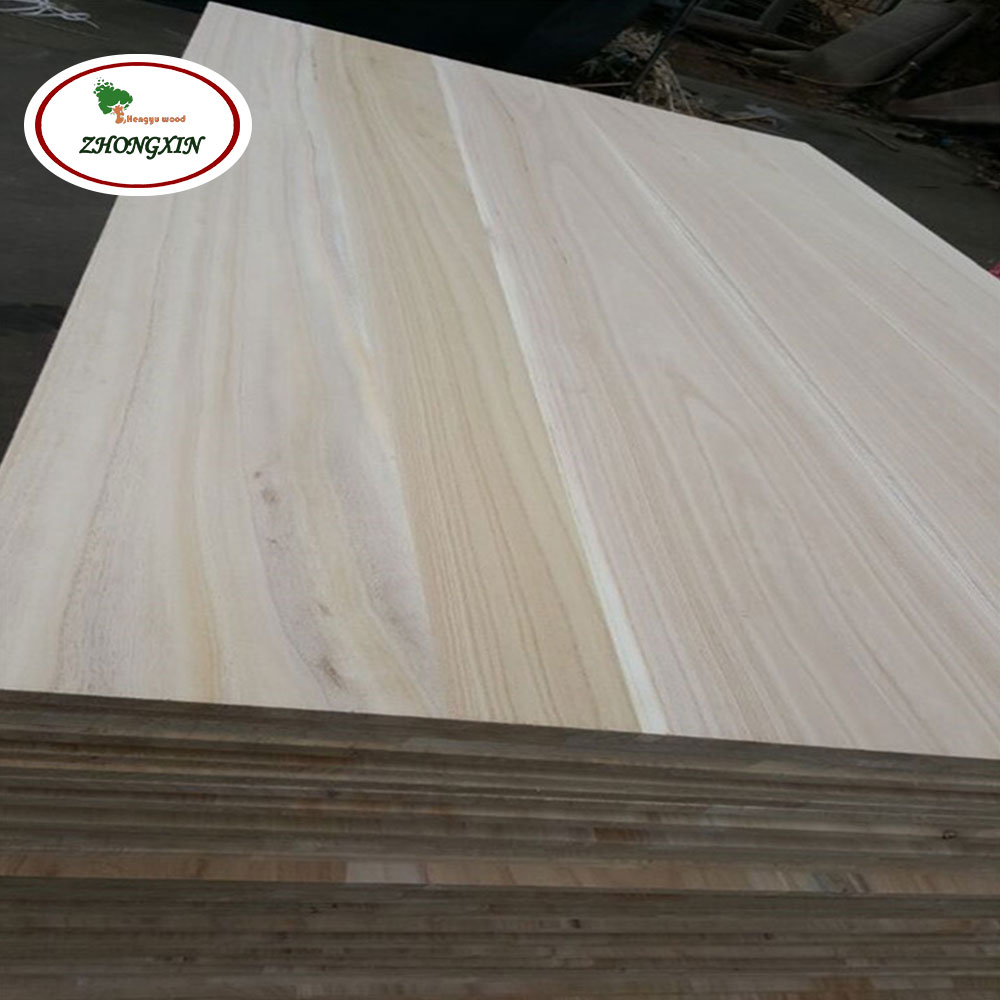 Edge Glued Solid Wood Paulownia Good Wood Boards for sale