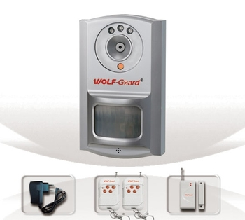1,007M3F CE,FCC UL The New GSM Alarm System With built-in PIR sensor