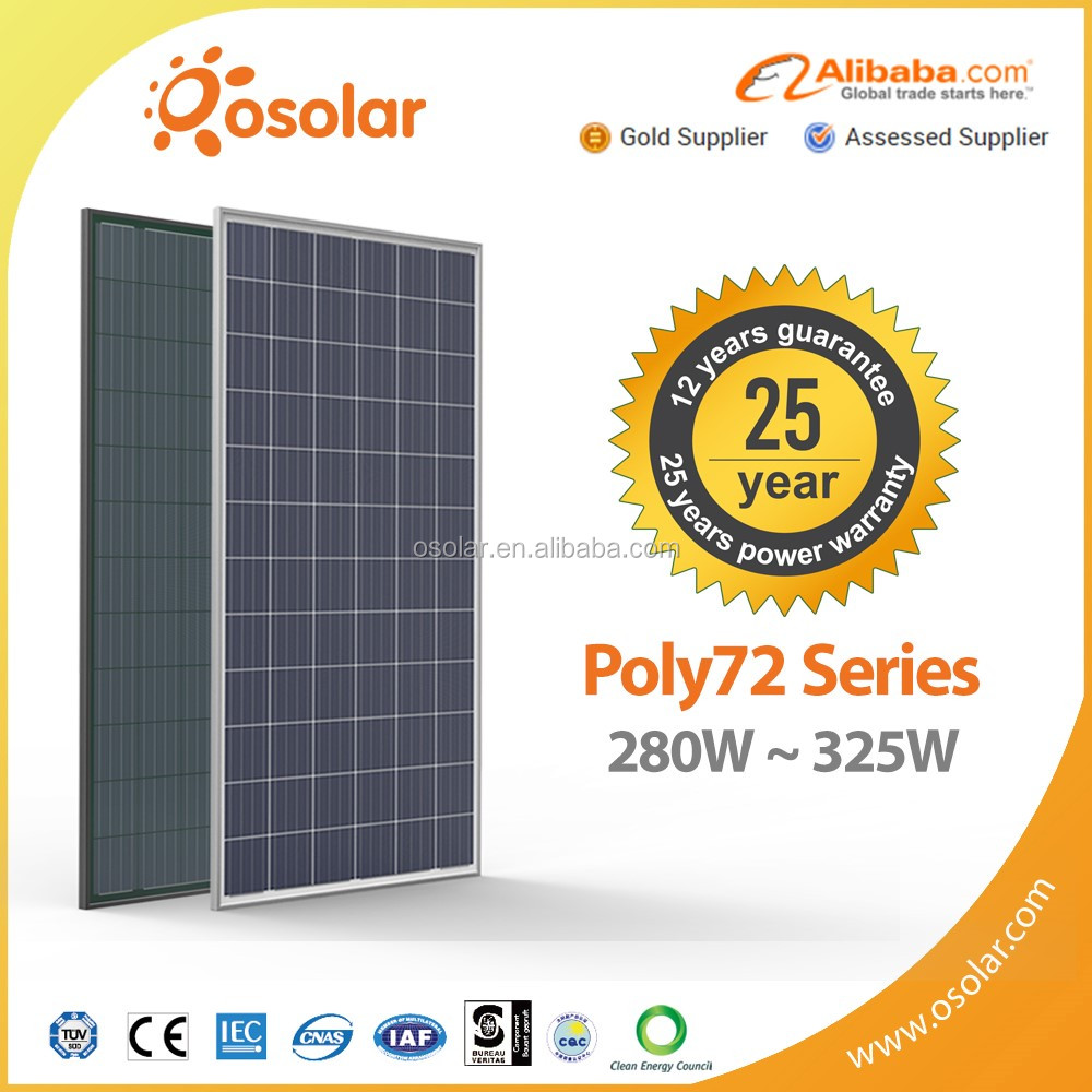 alibaba pv module 72 cells photovoltaic 320 325w 330 340 watt aluminium solar panel for home