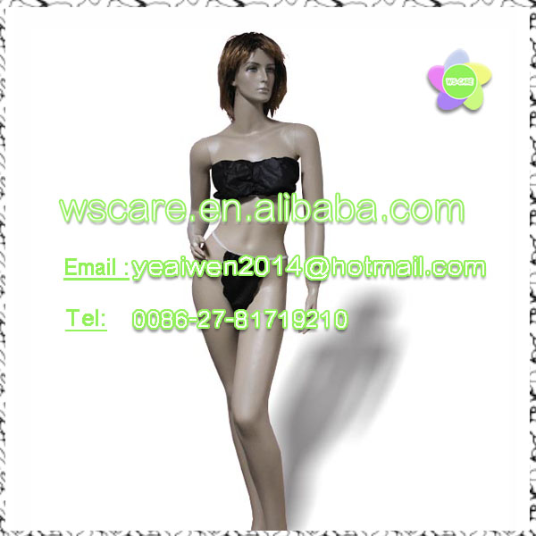 new design Disposable bikini,disposable woman underware,disposable PP short pants
