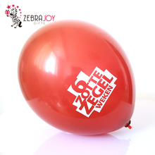 Promotional gifts custom logo air decor plastic balloon