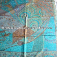 Hand Embroidered Designer Fashion Chiffon Shawl