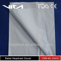 Dental headrest cover/dental chair cover for hospital use