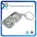 3D design metal military dog tag in zinc alloy
