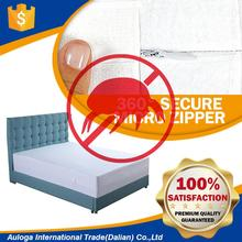 Brand new bed bug proof water-resistance mattress cover with zipper with high quality