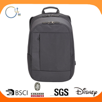 Black Color Leisure Backpack With Laptop
