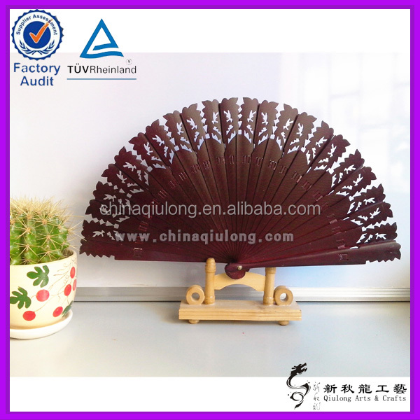 White Ribs Plastic Folding Hand Fan With 3D Naked Girl Pictures for Advertising