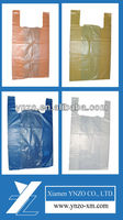 Cheap T-shirt plastic bag in various colors