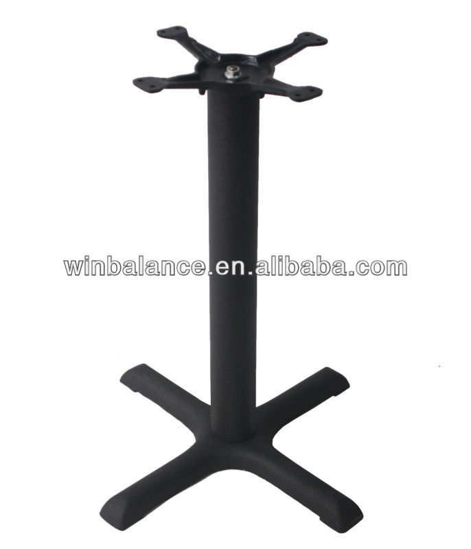 Cross Cast Iron Assembled Table Legs