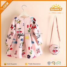 Casual Girls Cotton Dresses Latest Children Frocks Designs Beautiful Dresses For Young Girls