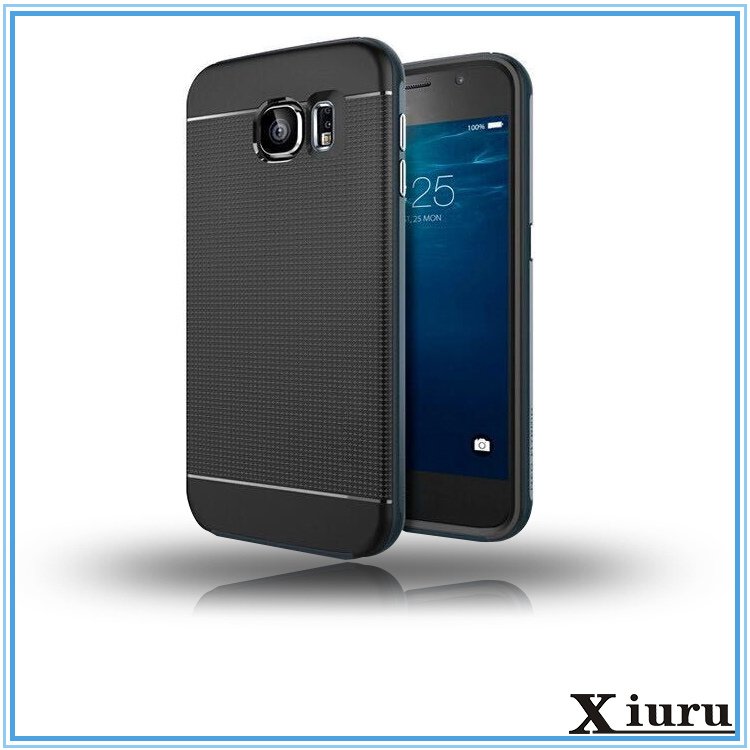 Antiskid Pu Screen Protector Cell Phone Case For Samsung Galaxy s6 edge HX1222