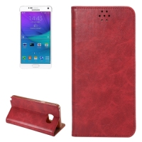 Fast Delivery Crazy Horse Texture Leather Cover for Samsung Galaxy Note 5 Wallet Case with Card Slots