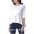Hot Sale Round Neck Ruffle Womens Tops Blouses In 2018
