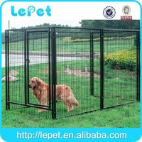 large outdoor wholesale welded panel square tube dog pen