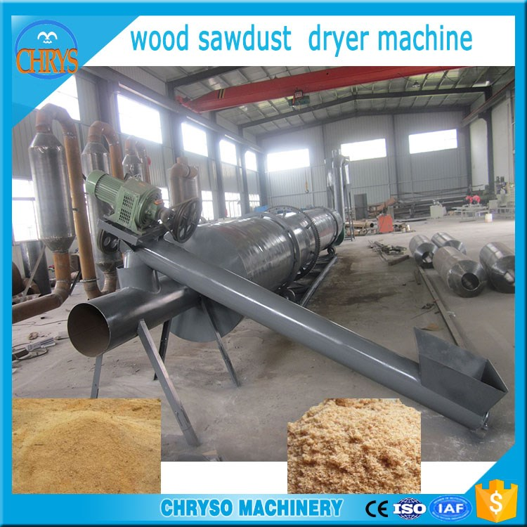 Wood Sawdust Drying Machine|Air-flowing Type Straw Powder Dryer