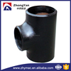 ANSI B16.9 ASTM A234 wpb carbon steel tee joint for natural gas pipe fittings