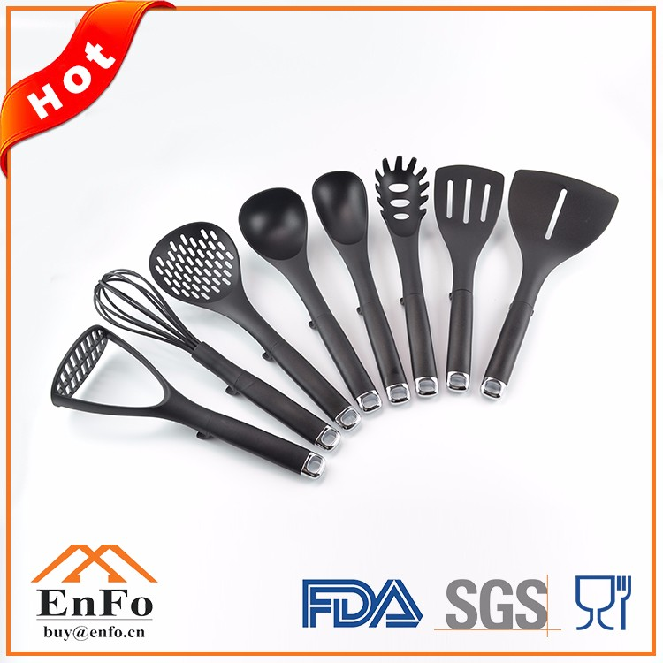 2017 high quality products China cookware nylon spatula kitchen utensil for excellent houseware