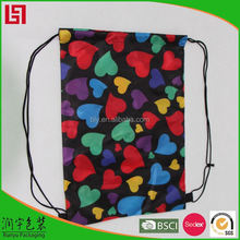 wholesale custom drawstring laundry bag