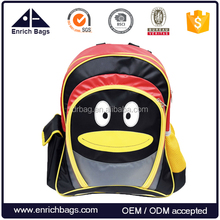 Kids Backpack School Bag With Cute Penguin Image
