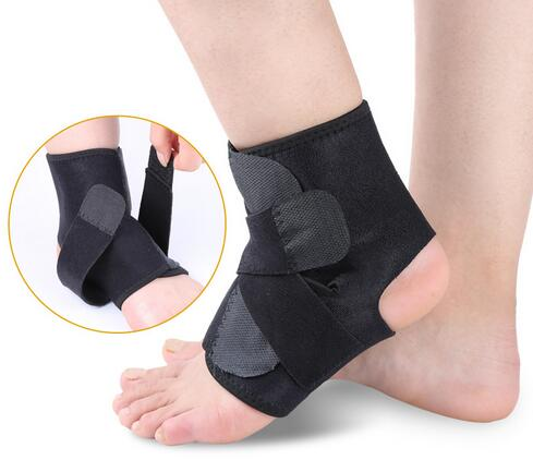 Fitness adjustable compression neoprene ankle support ankle protector double press elastic ankle brace