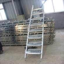 Hot-dip galvanized scaffolding steel plank