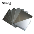 China factory custom size pmma thin mirror acrylic sheet