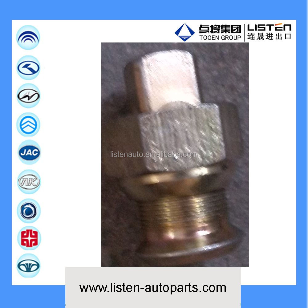 Nut, rear wheel DC Yutong, kinglong higer bus parts Bolt and nut for rear wheel (left) of rear axle parts 224003562