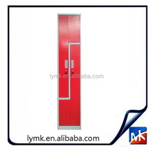 Customized KD structure z door locker for gym
