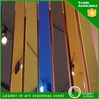 Alibaba china colored mirror stainless steel anti corrosion color coated steel sheet langli for bathroom