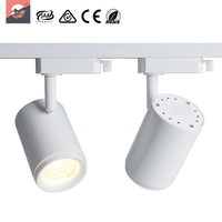 Residential Aluminum Circular LED Track Light