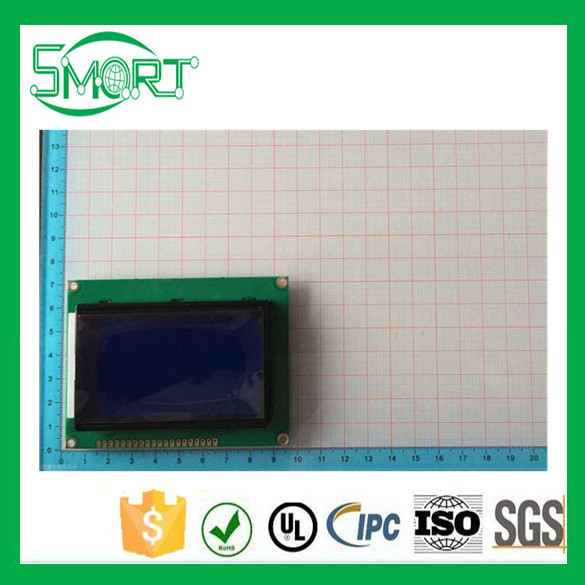 Free shipping ~5 pcs/lot Blue screen LCD12864 display With Chinese word stock with backlit <strong>LCD</strong> 12864 12864-5 <strong>LCD</strong>