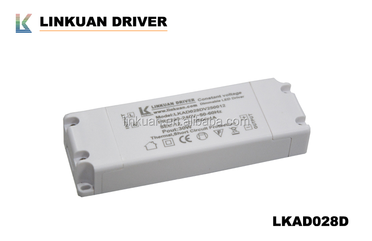 24V constant voltage power supply and dimmable led driver 12v