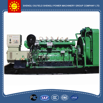260KW 400V Oil mine dedicated Biogas Generator For Shengdong/biogas engine generator