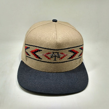 Fashional Five Panel Cap And Hats /Leather Patch 5 Panel Caps Hat