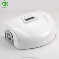 Big size used two hands nails machine professional nail beauty salon 66w ccfl led lamp / led uv dryer