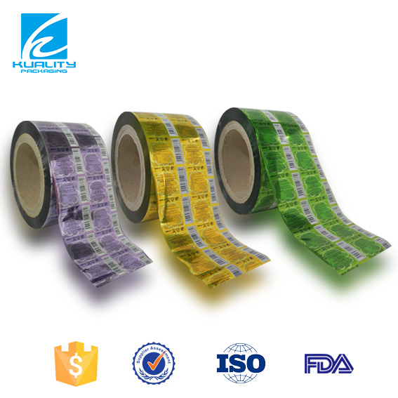 Laminated Foil Seeds Food Packaging Paper Roll
