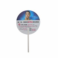 Custom Printed Colorful Best Gift Promotion Hand Fan