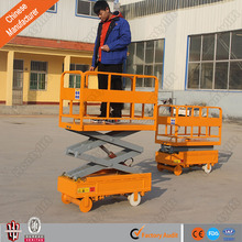 Greenhouses picking machine Sheds picker mini self-propelled scissor lift