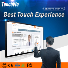 "China Factory CE/FCC/ROHS 32"" Wall Mount Touch Screen All-In-One Computer with capacitive touchscreen monitor"