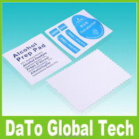 Free DHL Microfiber Cleaner Cloth Dust Removal Sticker Alcohol Prep Pad for Screen Protector