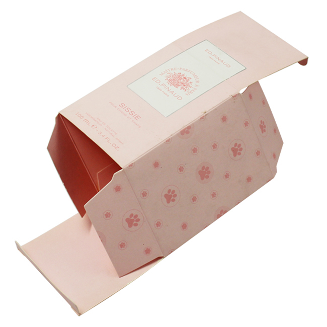 Customized Packing Art Paper Skin Care Cream Products Packaging Box Printing