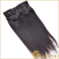 Wholesale clip in virgin russian aunty funmi hair extensions