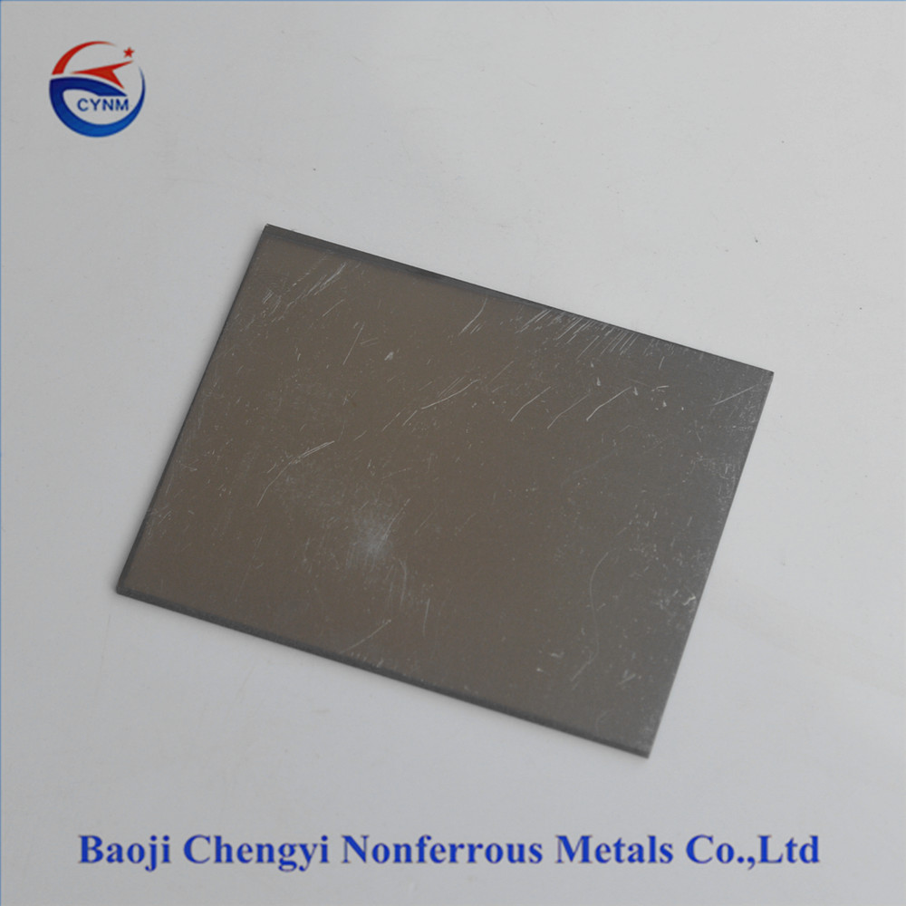 good quality pure tantalum plate 0.5-30mm thickness polished surface