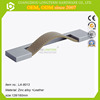 Furniture Hardware Decorate Bedroom Drawer Leather Handle for Cabinet